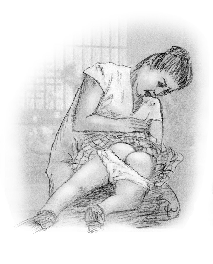 rukia lee warner spanking art