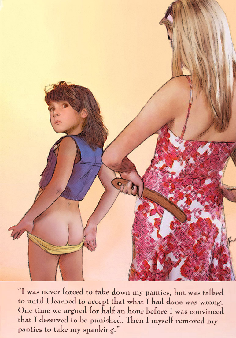 girl spanking drawing art - DATAWAV