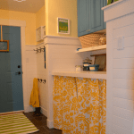 laundry room revamp at thehappyhousie