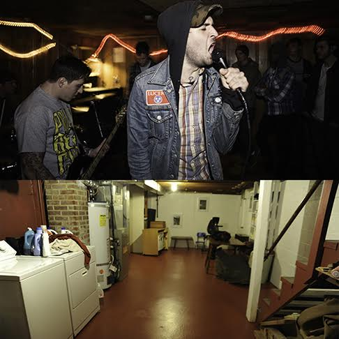 Legendary punk venue now just a normal basement for 9999 basement