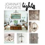 Joanna's Favorite Light Fixtures for Fixer Upper Style