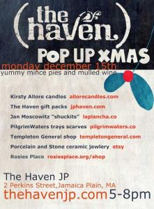 the haven pop up