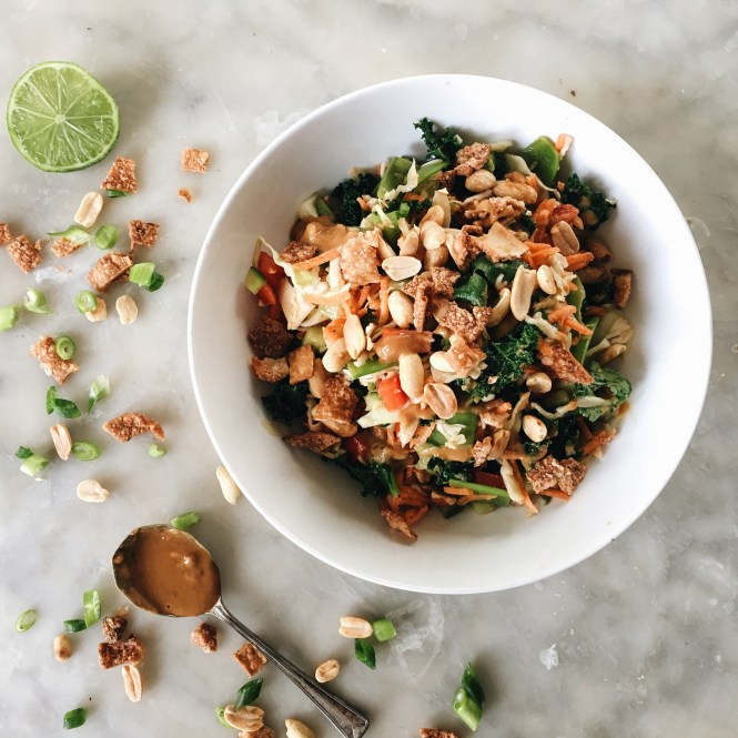 THAI CHOPPED SALAD WITH PEANUT AND LIME DRESSING 6