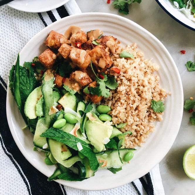 Crispy Satay Tofu 2