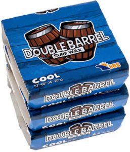 Double Barrel Surf Wax - Cool Water