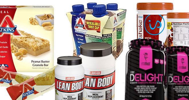 Top 5 Best Low Carb Replacement Meal Bars & Shakes 2017
