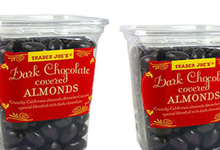 Trader Joe's dark chocolate almonds
