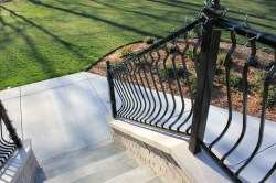 Small Of Metal Deck Railing