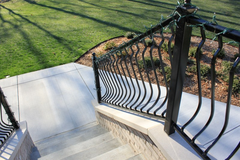 Large Of Metal Deck Railing