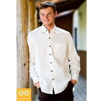 ECO-COUTURE HEMP OXFORD SHIRT