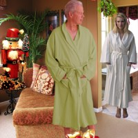 French Terry Spa Robe for Men