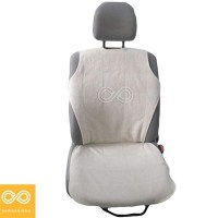 HEMP CAR SEAT COVER (NATURAL - UNBLEACHED UNDYED)