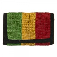 Hemp Rasta Wallet - RGY Plain