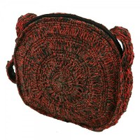 Hemp Round Purse - Multi