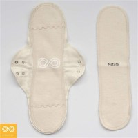 ORGANIC COTTON LONG PAD (1 HOLDER + 1 LINER)