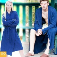 ORGANIC HEMP KNIT BATHROBE