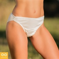 BARDOT ORGANIC PRIMA COTTON FRENCH HIGH CUT BIKINI