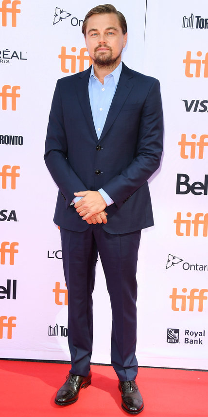 Leonardo DiCaprio- 2016 Toronto International Film Festival Best Dressed by The He Said She Said Experience