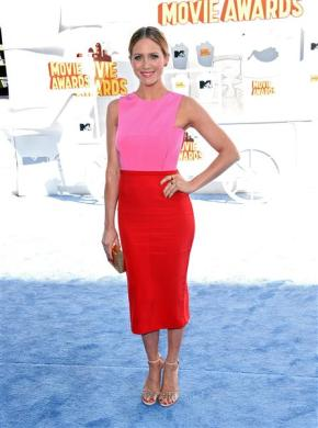 Best Dressed 2015 MTV Movie Awards by The He Said She Said Experience: Brittany Snow in Brandon sun