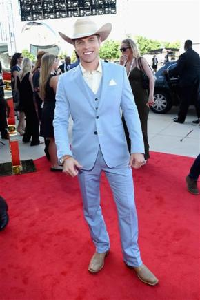Best Dressed from 50th Annual ACM Awards by The He Said She Said Experience- Dustin Lynch
