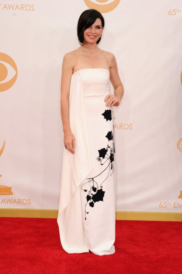 The He Said She Said Experience- 2013 Emmys Fashion-Julianna Margulies in Reed Krakoff
