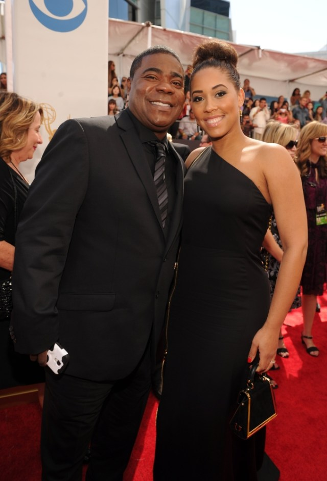 The He Said She Said Experience- Fashion Desk- 2013 Emmys- Tracy Morgan