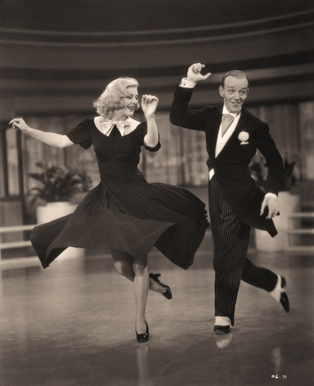 """John Miehle Fred Astaire and Ginger Rogers for """"Swing Time,"""" RKO, 1936/2007 Platinum print from the original negative"""