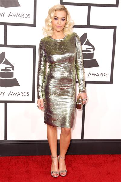 The He Said She Said Experience- 2014 Grammy Awards Best Dressed- Rita Ora in Lanvin
