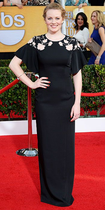 The He Said She Said Experience- 2014 SAG Awards Best Dressed- Cara Theobold