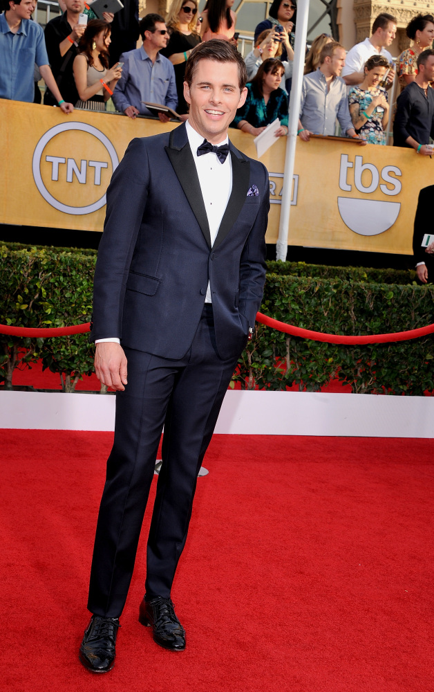 The He Said She Said Experience- 2014 SAG Awards Best Dressed- James Marsden