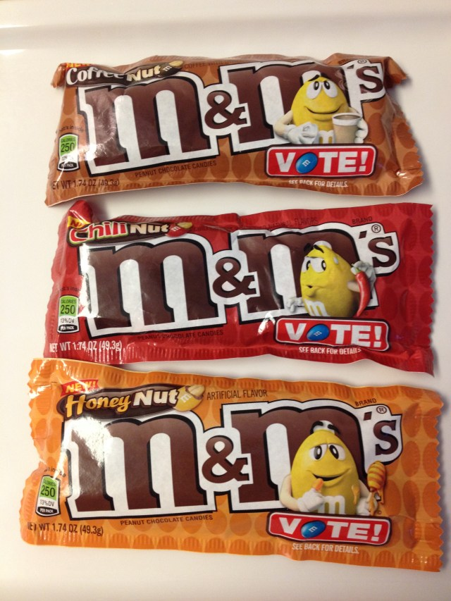 Flavored Peanut M&M's: Review by The He Said She Said Experience