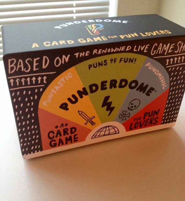 Punderdome: Board Game Review by The He Said She Said Experience