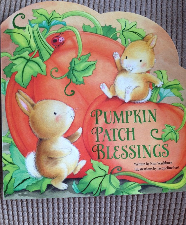 Pumpkin Patch Blessings by Kim Washburn with illustrations by Jacqueline East- Review by The He Said She Said Experience