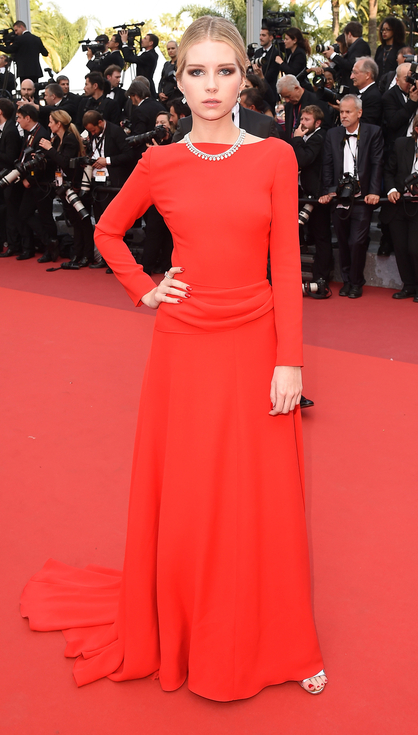 Lottie Moss in Dior- Best Dressed 2016 Cannes Film Festival by The He Said She Said Experience