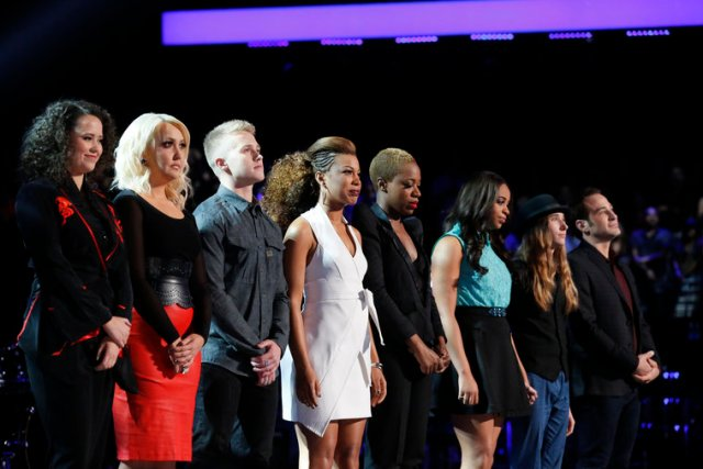 The Voice Season Eight Top 6 by The He Said She Said Experience
