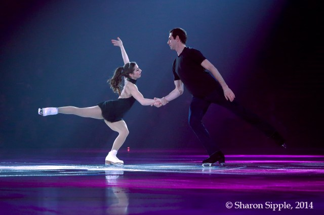 The He Said She Said Experience- Marissa Castelli and Simon Shnapir cast credit: Sharon Stipple/ Stars on Ice