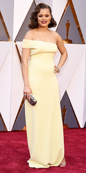 Andra Day- 2016 Oscars Red Carpet- Best Dressed by The He Said She Said Experience