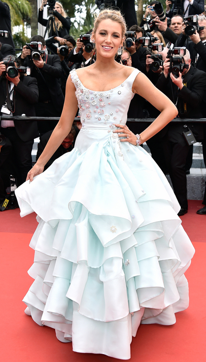 Blake Lively in Vivienne Westwood Couture- Best Dressed 2016 Cannes Film Festival by The He Said She Said Experience