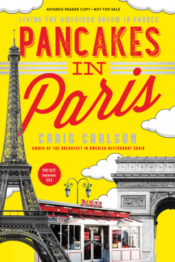 Pancakes in Paris by Craig Carlson- Book Review by The He Said She Said Experience