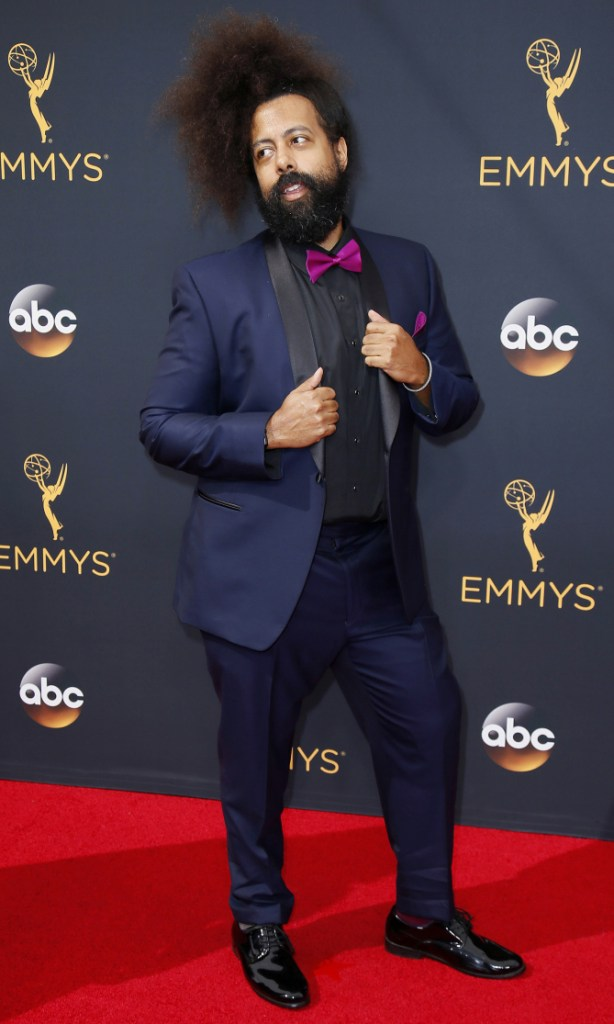 Reggie Watts- 2016 Emmy Awards Best Dressed by The He Said She Said Experience
