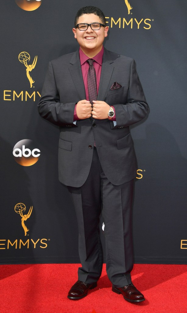 Rico Rodriguez- 2016 Emmy Awards Best Dressed by The He Said She Said Experience