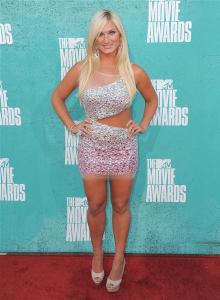 brooke hogan 2012 MTV  movie awards