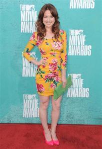 ellie kemper 2012 MTV movie awards