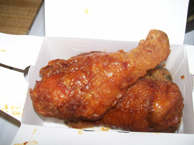 BonChon Chicken's Spicy Chicken Leg