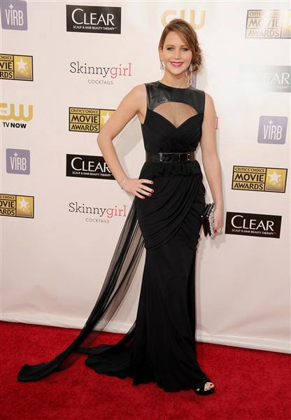 jennifer lawrence 2013 critics' choice awards
