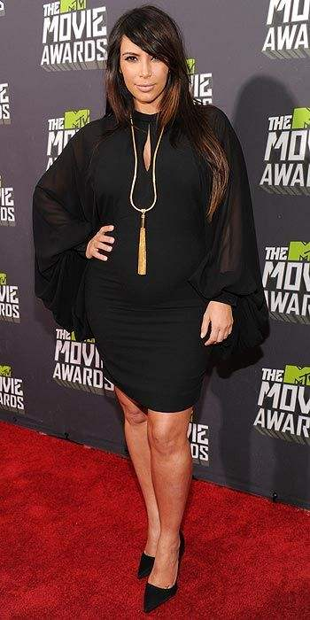 Kim Kardashian 2013 MTV Movie Awards