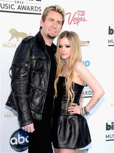 Chad Kroeger and Avril Lavigne 2013 Billboard Music Awards