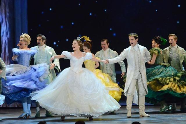 Look at those beautiful dresses from Cinderella!