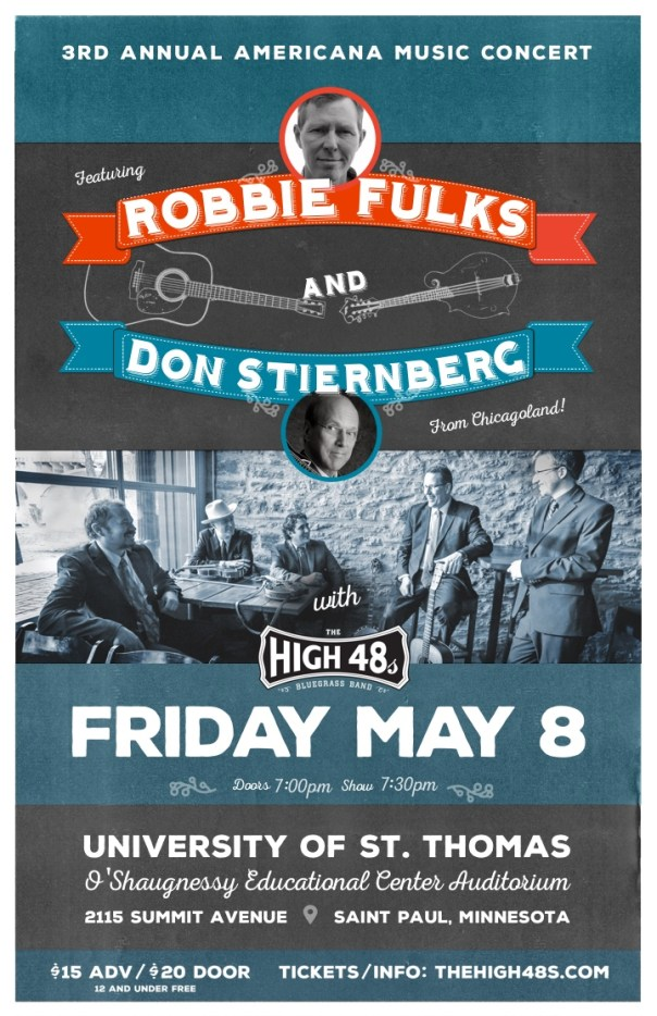 The High 48s with Robbie Fulks and Don Stiernberg  - May 8th, 2015