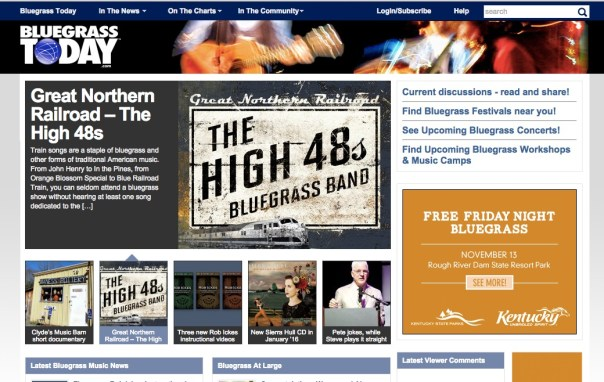 The High 48s featured in Bluegrass Today